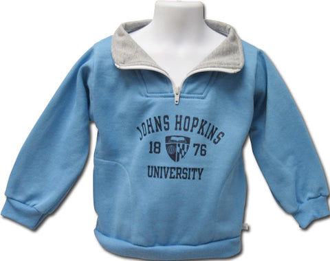 Johns Hopkins University Toddler Zip Pullover Sweatshirt