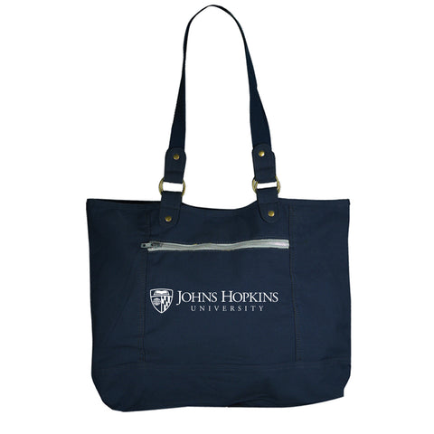 Johns Hopkins University Canvas Tote Bag