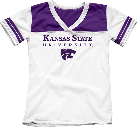 Kansas State University Girls Youth Tee Shirt