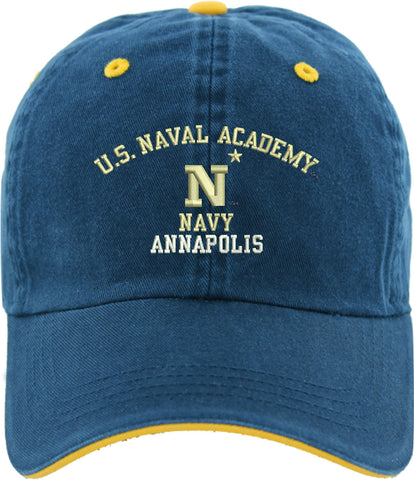 US Naval Academy Embroidered Cap