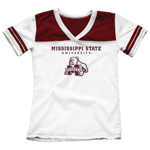 Mississippi State University Girls Youth Tee Shirt