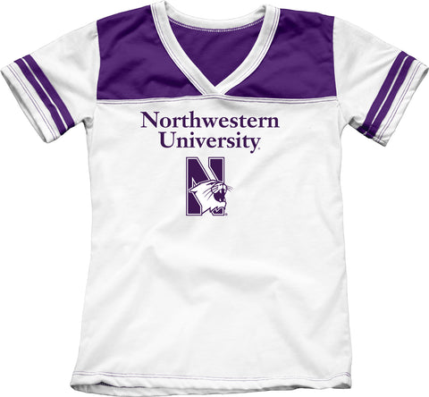 Northwestern University Girls Youth Tee Shirt