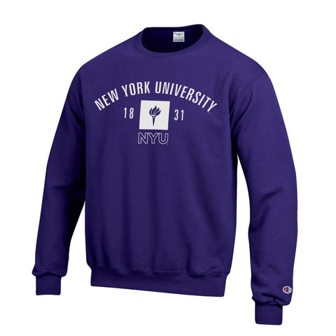 New York University Crew Neck Sweater