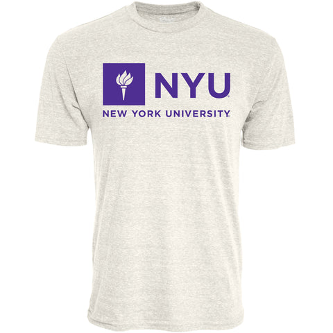 New York University Tee Shirt, Oatmeal