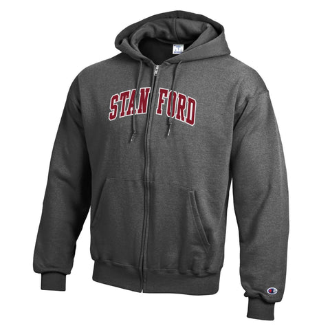 Stanford University Embroidered Zip Hoodie