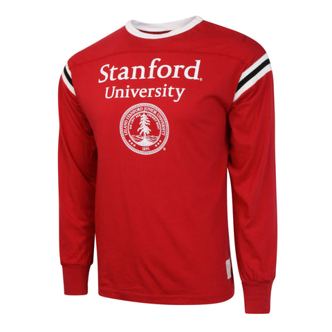 Stanford University Banded Football Jersey LS Shirt