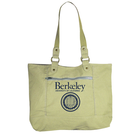 University of California Berkeley Canvas Tote Bag