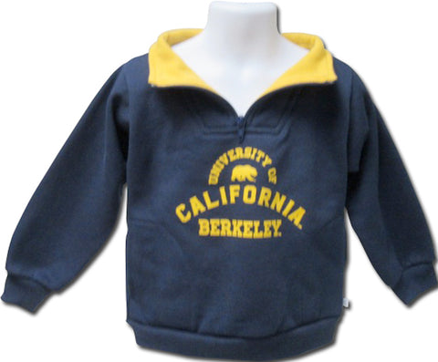 University of California Berkeley Youth Boys Zip Pullover Sweatshirt
