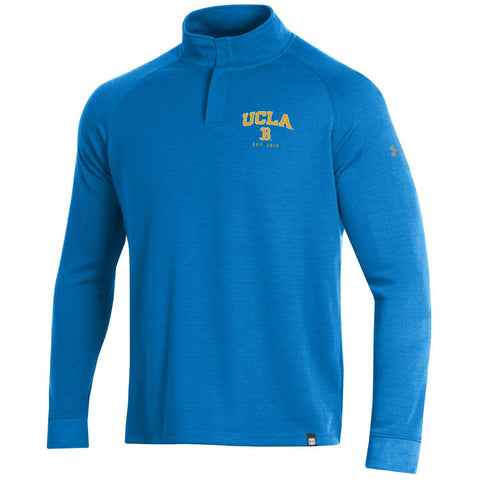 University of California Los Angeles Double Knit Mock Turtle Neck