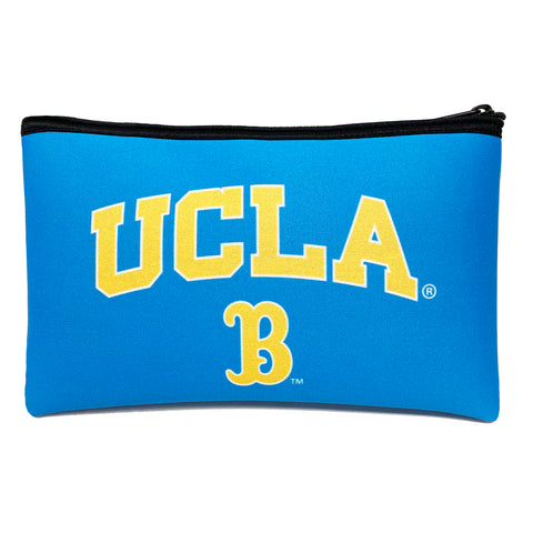 University of California Los Angeles  Zippered Scuba Pencil Case