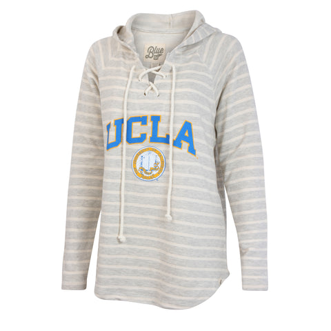 University of California Los Angeles Lace Up Sweater Hoodie