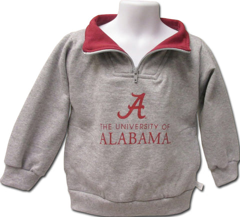 University of Alabama Toddler Zip Pullover Sweatshirt