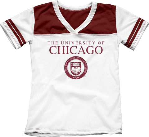 University of Chicago Girls Youth Tee Shirt