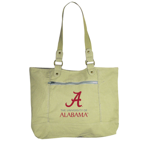 University of Alabama Canvas Tote Bag