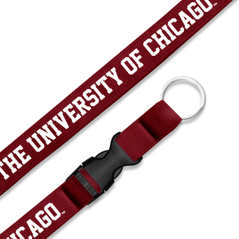 University of Chicago Snap Clip Lanyard