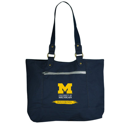 University of Michigan Canvas Tote Bag