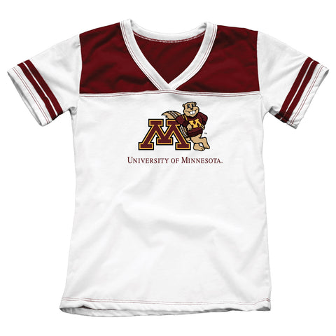 University of Minnesota Girls Youth Tee Shirt