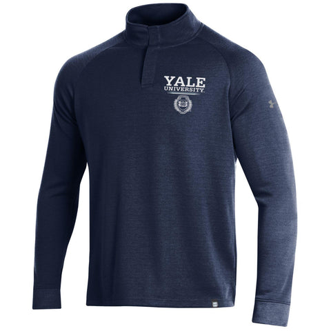Yale University Double Knit Mock Turtle Neck