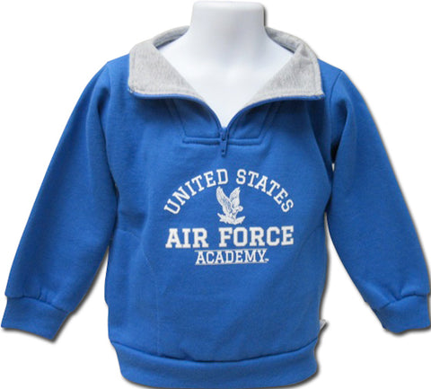 US Air Force Academy Toddler Zip Pullover Sweatshirt