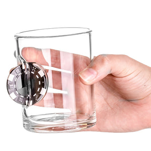 Up The Ante Whiskey Glass