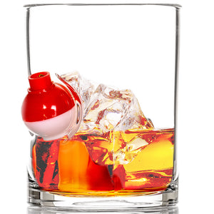 Gone Fishin' Whiskey Glass