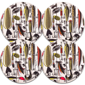 Sportsman Coasters (Set of 4)