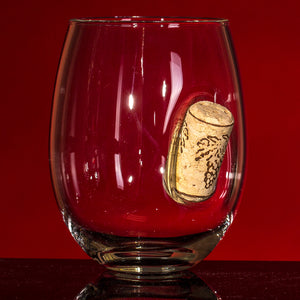 Uncorked Wine Glass