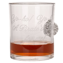 The Piece of Eight Whiskey Glass