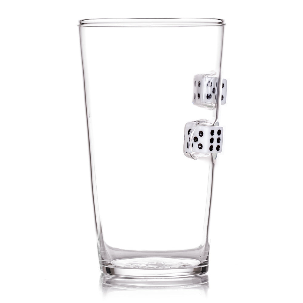 The Devil's Bones Pint Glass