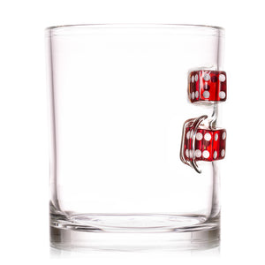 The Devil's Bones Whiskey Glass