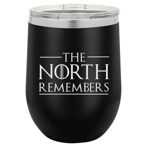 Thrones Sayings 12 oz Wine Tumbler