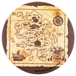 Treasure Coasters (Set of 4)