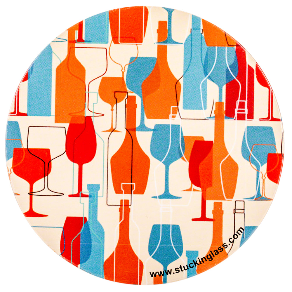 Wine Coasters (Set of 4)