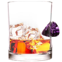 The Shredder Whiskey Glass