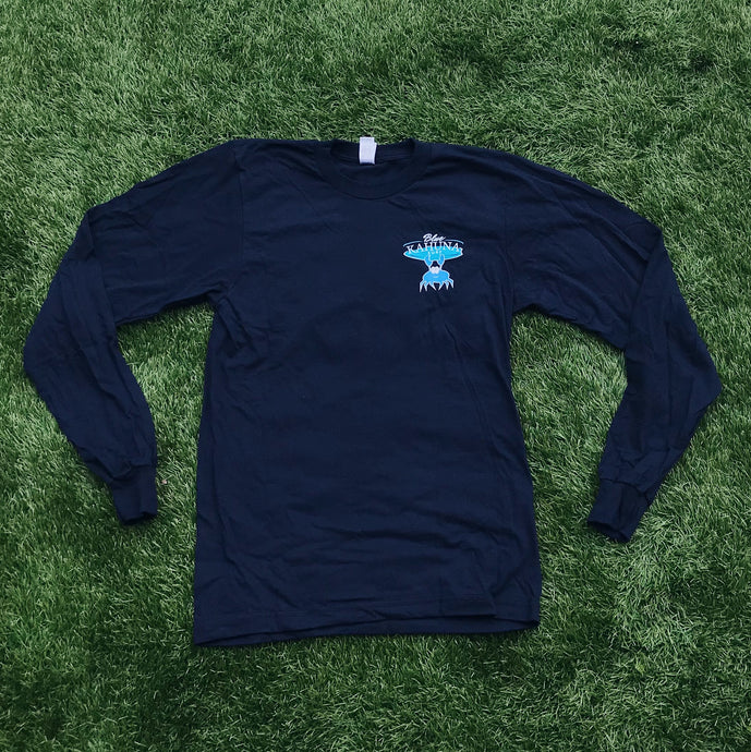 Navy Long-Sleeve Shirt