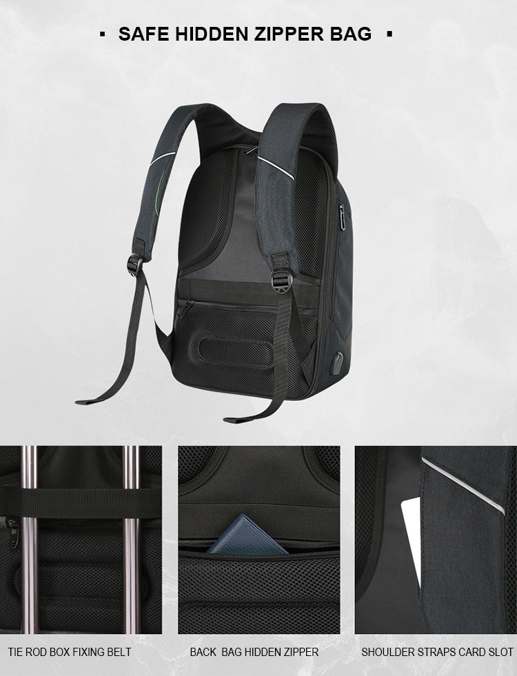 Urban Backpack Zipper