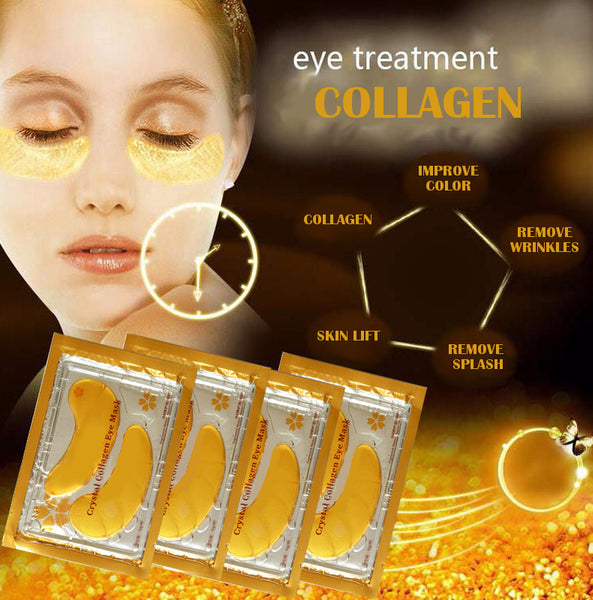 Crystal Collagen Mask Eyes Gold