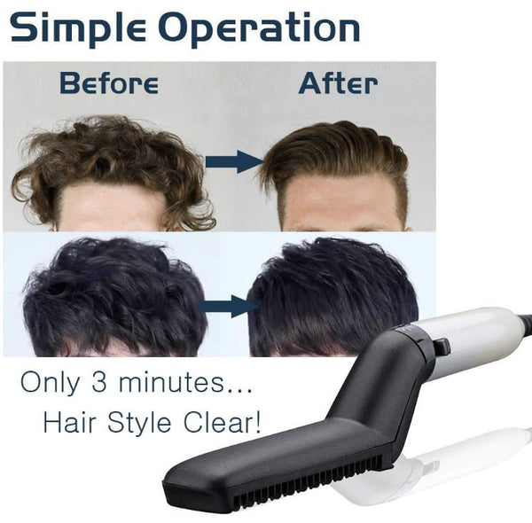 iQuick Electric Hair Styler in 3 minutes