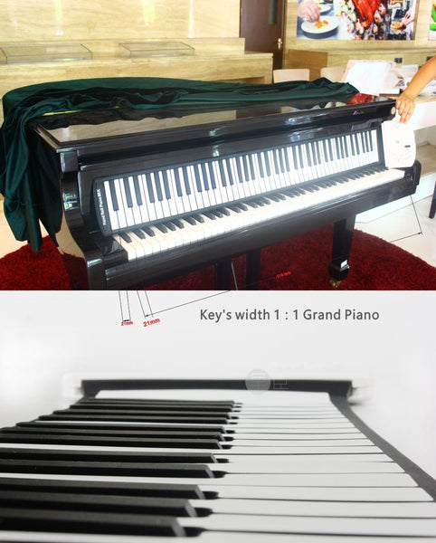 Professional Roll Up Piano - Real Scale