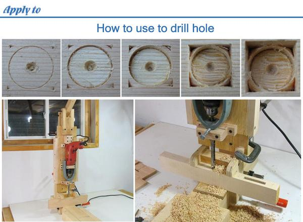 Square Hole Drill - How to use