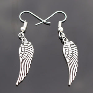 Vintage Angel Earrings
