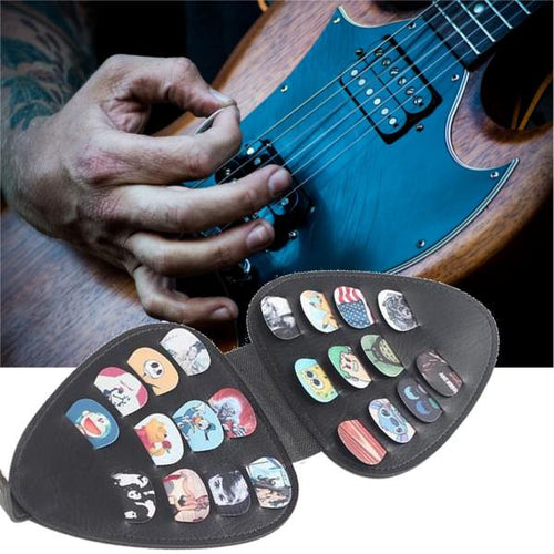 Guitar Pick Case + 22 Picks