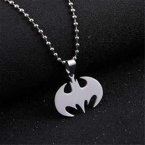 Stainless Steel Jewelry Bat Pendant Necklaces