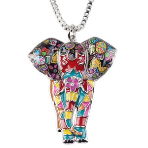"Elephant Necklace Collection ""SUNRISE"""