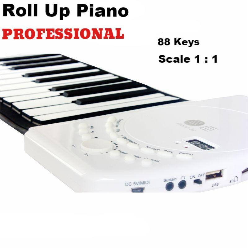 Professional Roll Up Piano (88 keys)