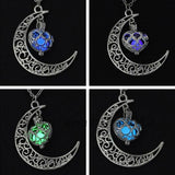 New Moon Glowing Necklace
