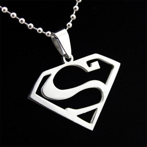 Superhero Necklace Stainless Steel