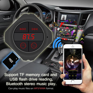 Hands Free Wireless Bluetooth 6-in-1