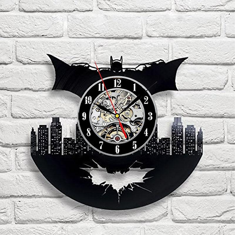 Vinyl Hanging Clock Batman