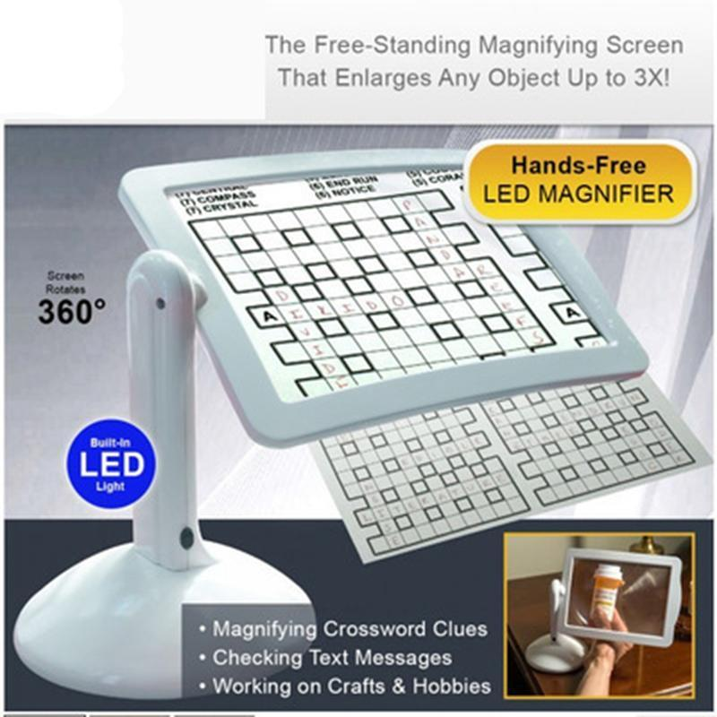 Magnifying Viewer Screen